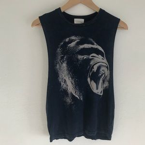 Gorilla Graphic Muscle Tee